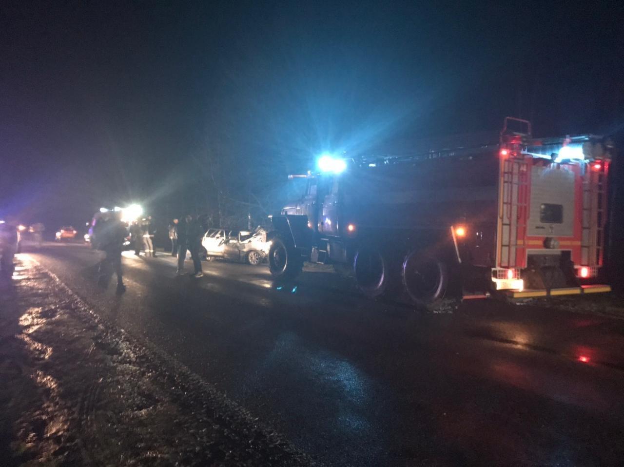 Спасатели приняли участие в ликвидации последствий ДТП в Стародубском районе